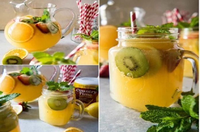 kiwi orange lemonade recipe