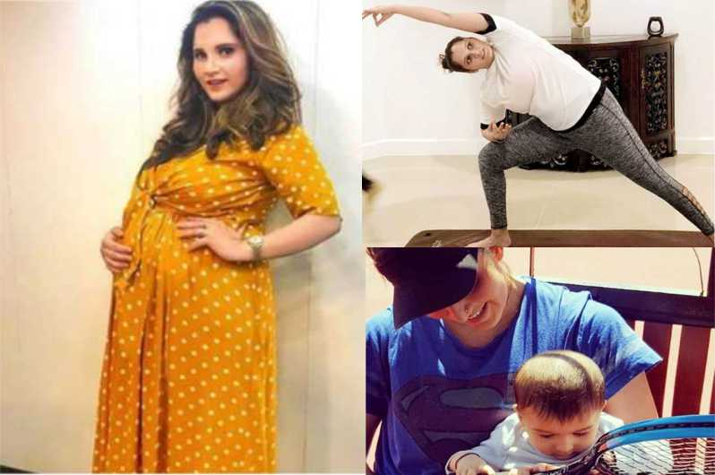 Saniya Mirza Losses Her Weight After Delivery
