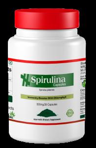 Spirulina capsules | स्पिरुलिना कैप्सूल